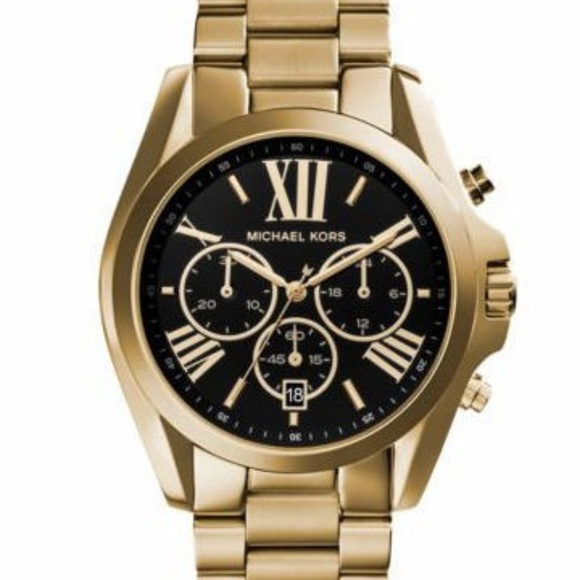 8bbe71e77 Michael Kors Accessories | Chronograph Bradshaw Watch Mk5739 | Poshmark